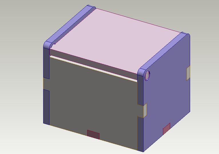 128 laser cut boxes