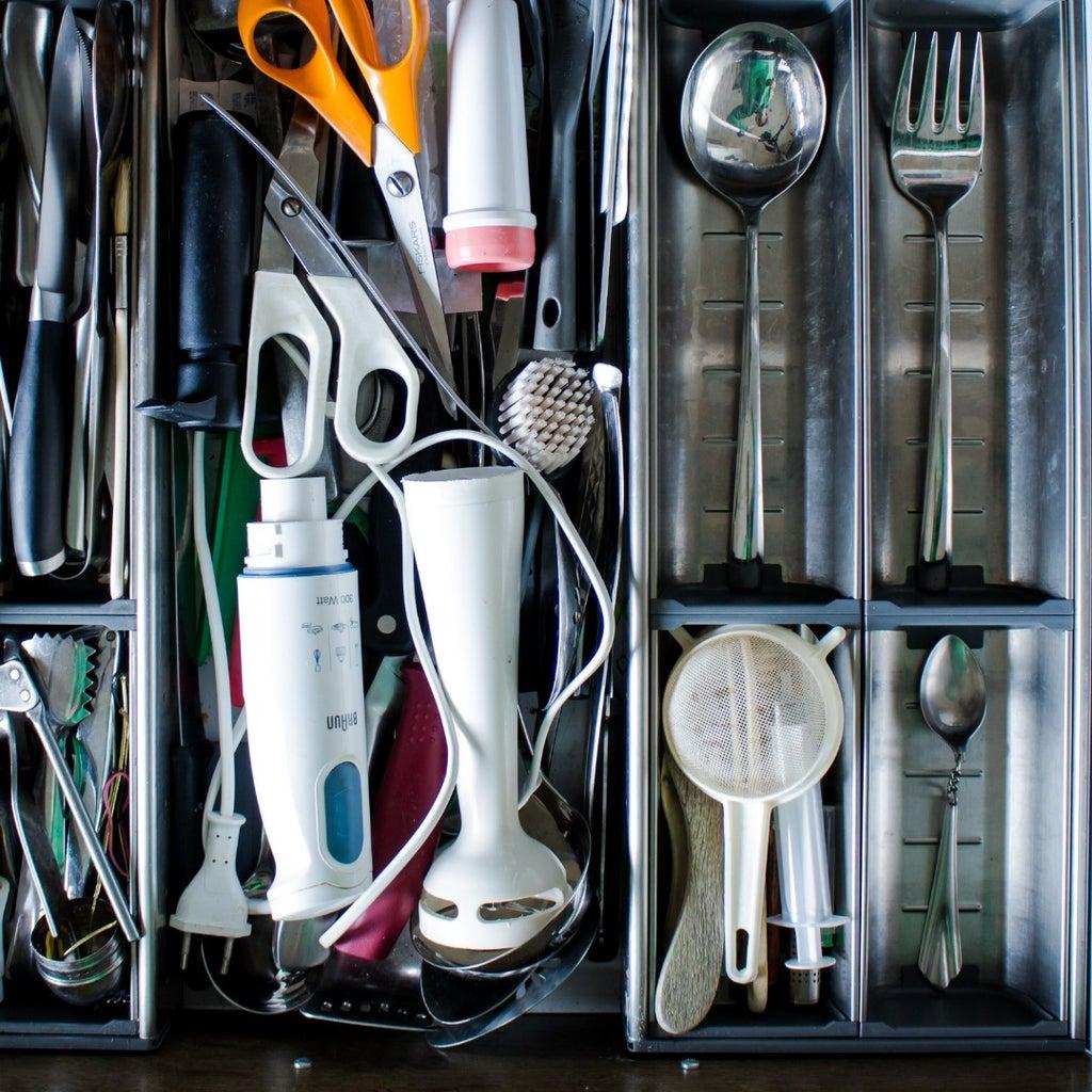 Arrange the Utensil Drawer According to Plan