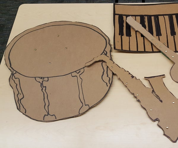 Makey Makey and Scratch Instrument