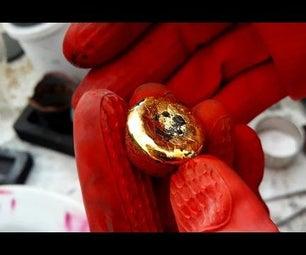 Gold Ingots Crucible Graphite