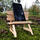 Phone and Camera Bench