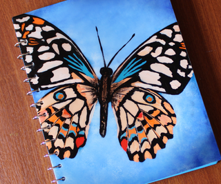 Make Your Own Butterfly Notebook