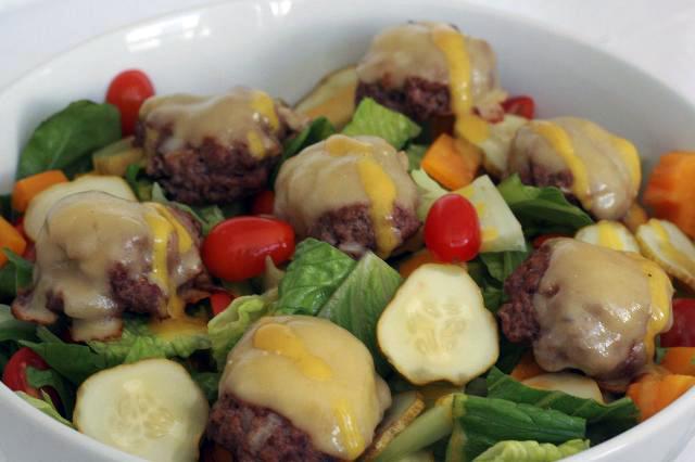 Cheeseburger Salad