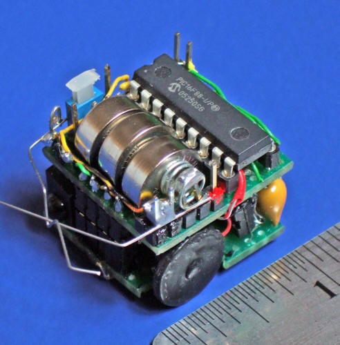 Building Small Robots: Making One Cubic Inch Micro-Sumo Robots and Smaller