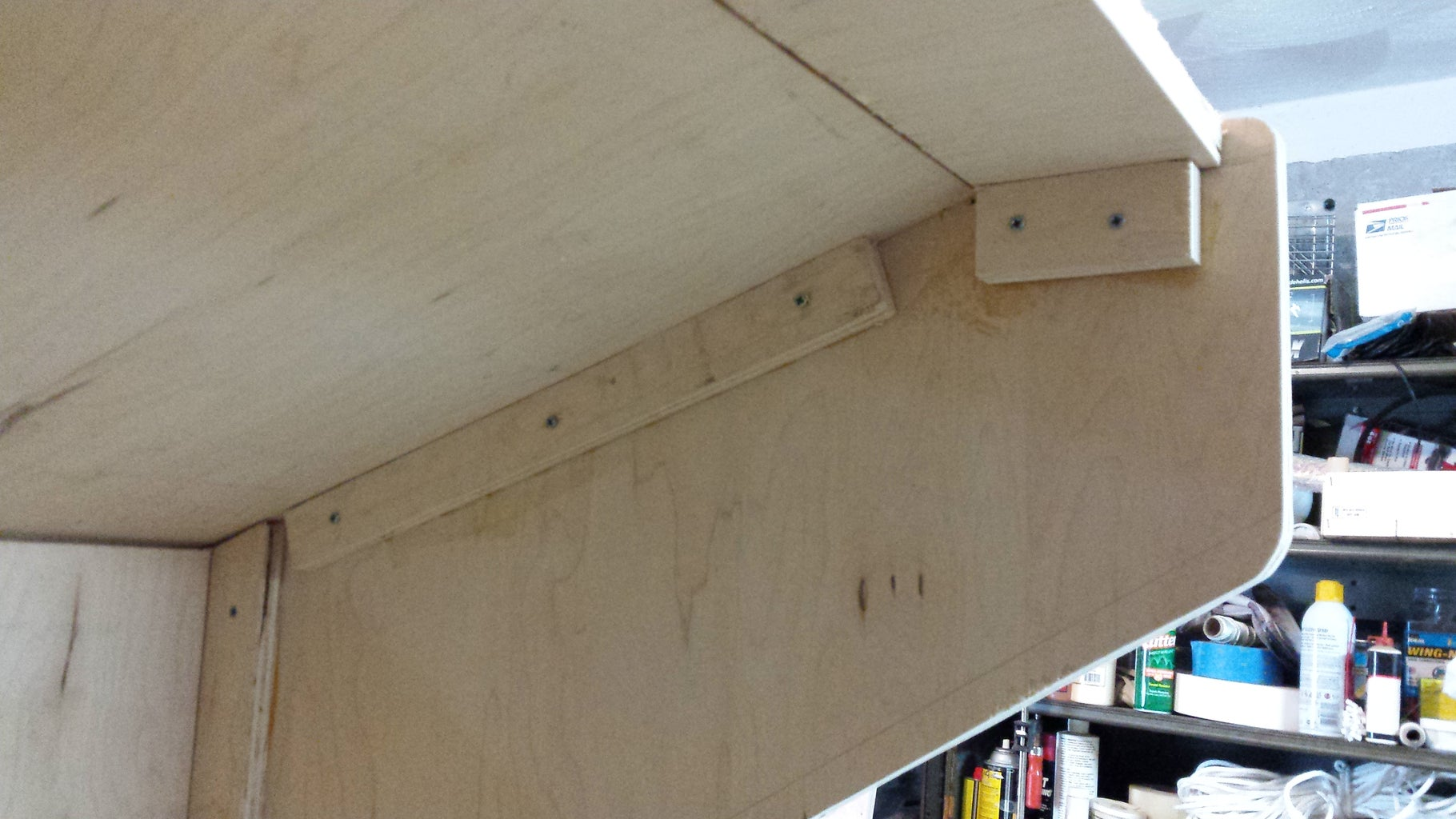 Add Plywood Strips to Edges to Hold It All Together.