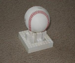 Lego Baseball Holder