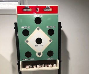Electronic Scoring for a Bean Bag Toss Baseball Game