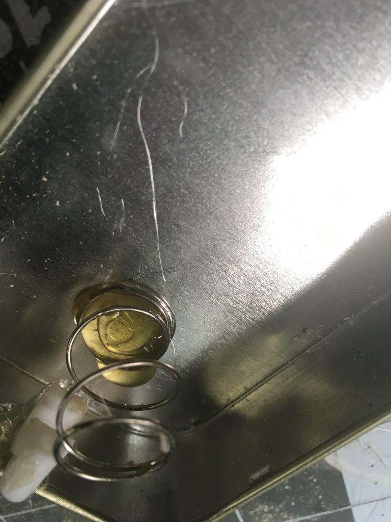Hot Glueing