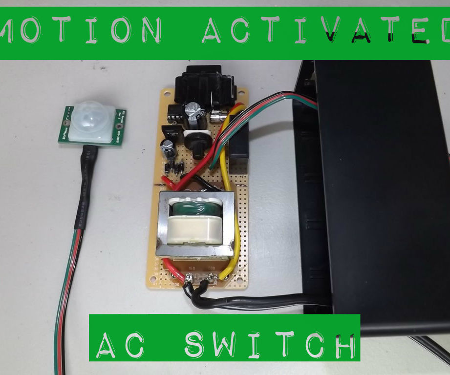 Motion Activated AC Switch