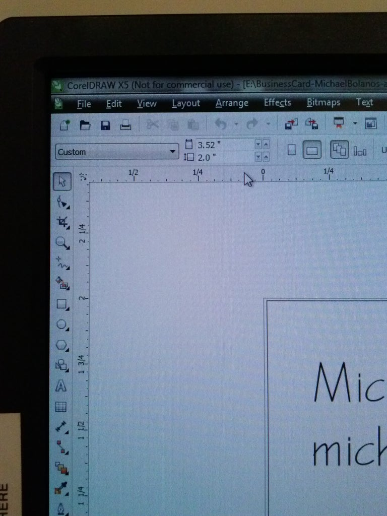 Step 2 - Create Your Design in Corel Draw And/or Adobe Illustrator