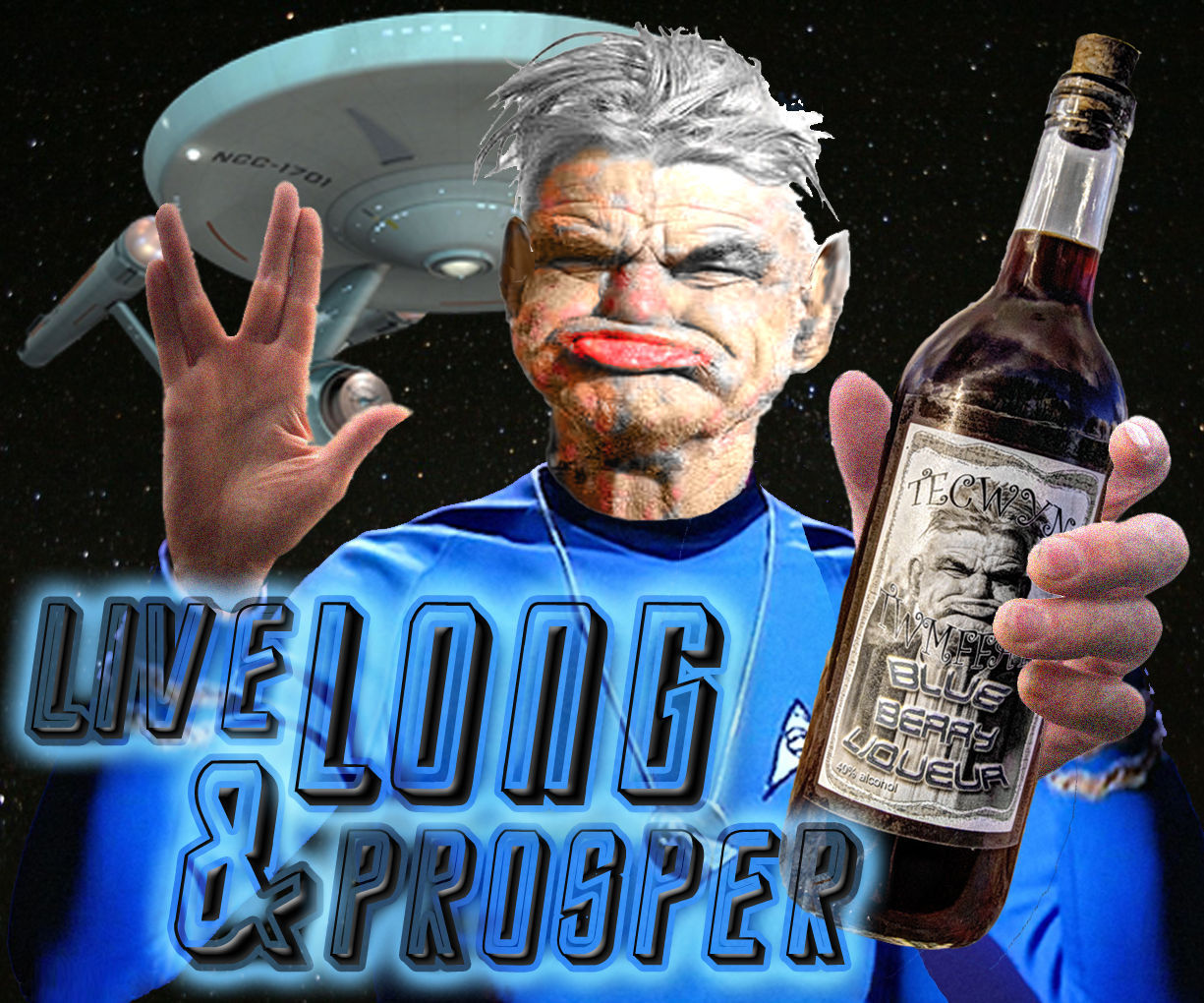 Live Long and Prosper with Superfood Liqueurs