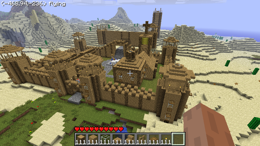 Minecraft Good looking tower