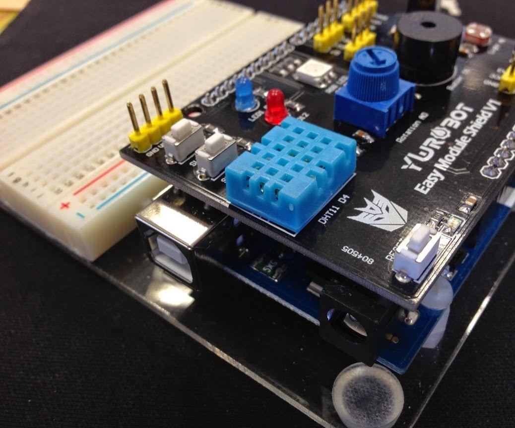 用YwRobot Easy Module Shield 多功能實驗擴展板玩 S4A (一)