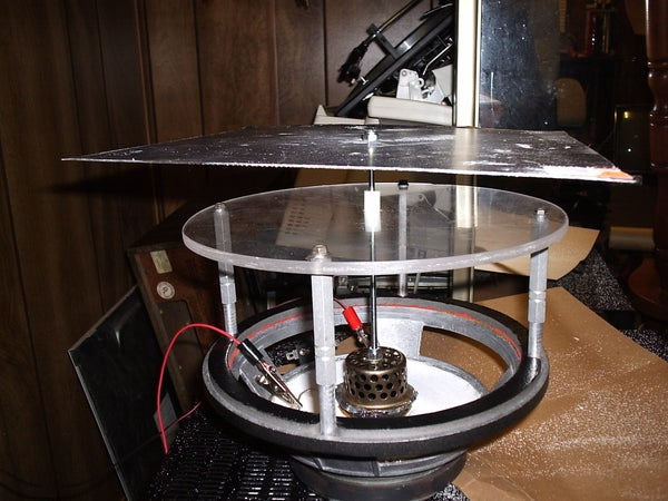 Mechanical Wave Driver for Chladni Plate