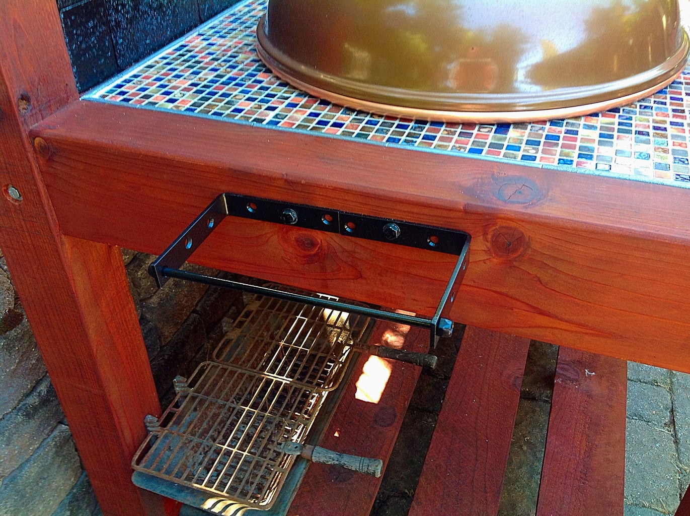 Lid & Towell Rack & Finishing Touches