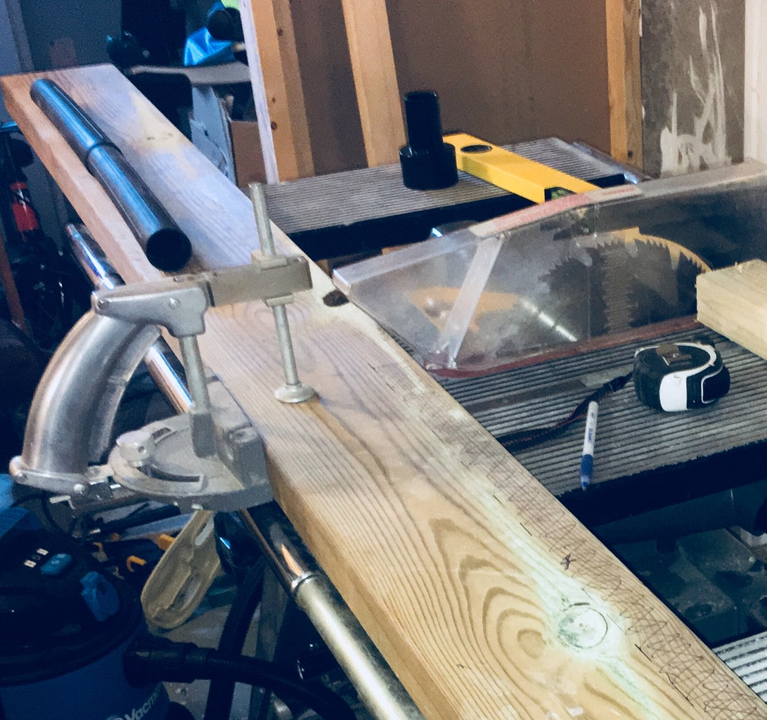Chop Saw Provision - Frame