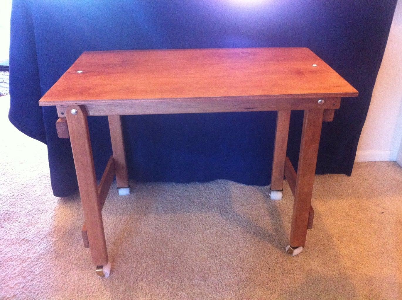 Folding Wood Desk & Ergonomic Office