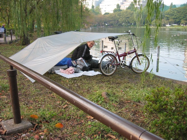 Bumcamping in Japan