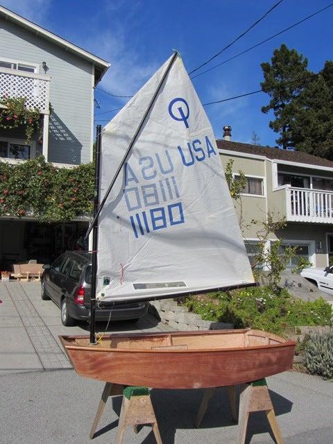Optimist Sailboat Build