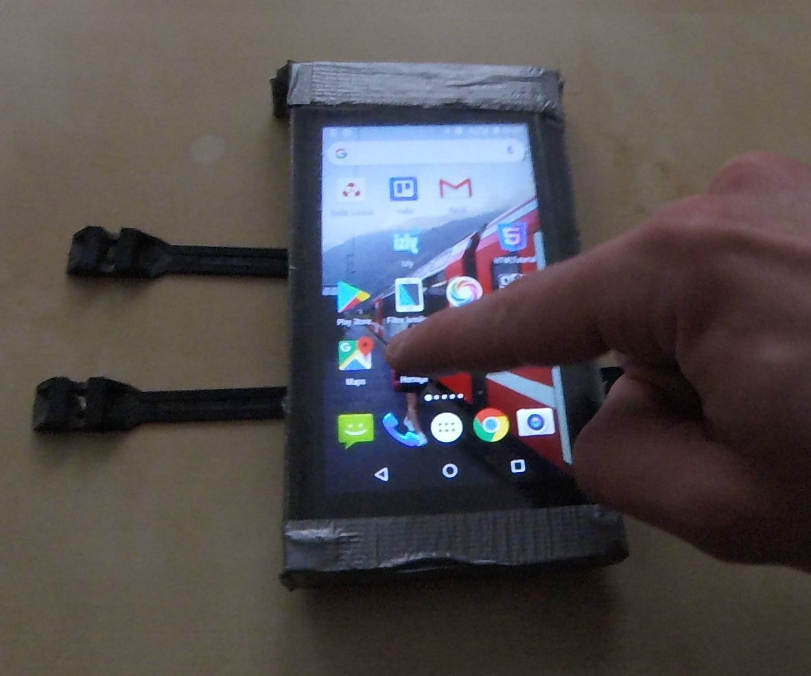 Waterproof Bike Smartphone Shell