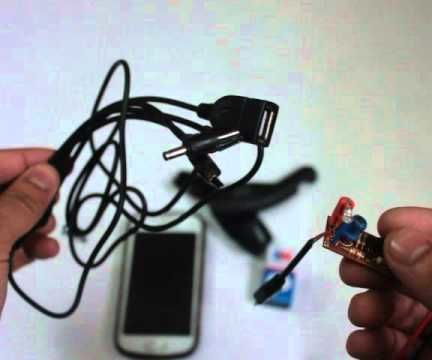 How To Charge Your Phone Using a Dc Battery