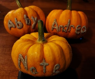 Personalized Pumpkins With Names