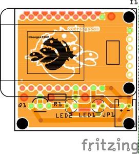 The ESP8266 IR Remote Control Board