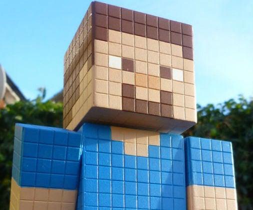 Minecraft: Steve Model! With Bonus Double Chest!
