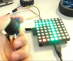 Rainbowduino Snake Game