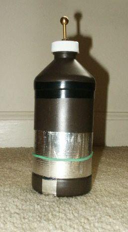 Soda Can Leyden Jar