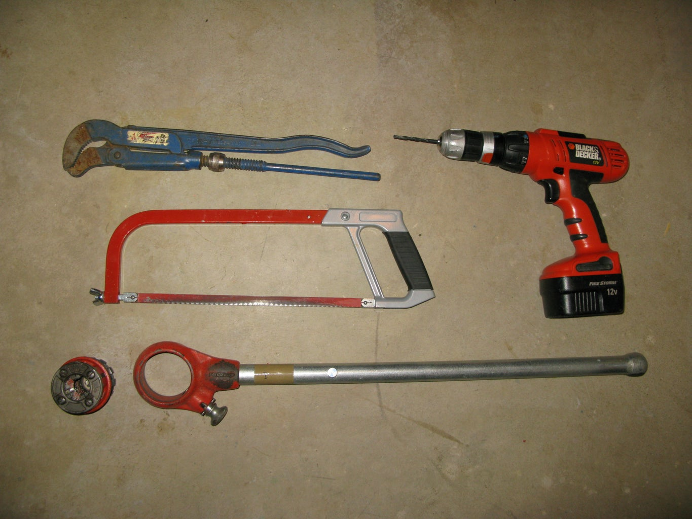 Needed Materials and Tools