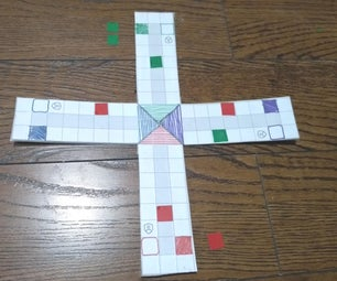 Make the Game of Ludo in 10 Mins From Scratch! ... Including the Pieces!
