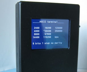 Serial Monitor With ILI9341 and BluePill