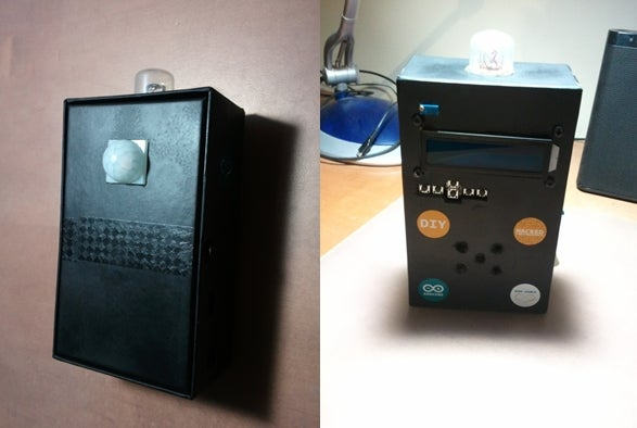 """Smart Shield"" - Portable Alarm System Using Arduino"