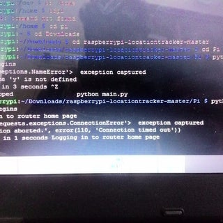 Raspberry Pi Location Tracker