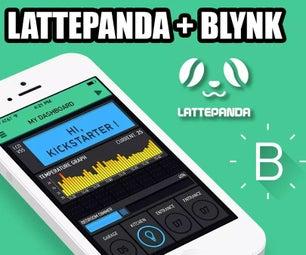 LattePanda + Blynk = IoT Fun!