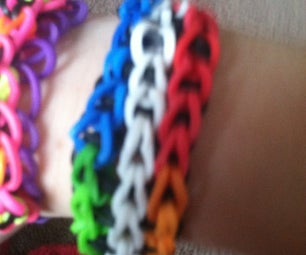 Easy an Awesome Rubberband Bracelets