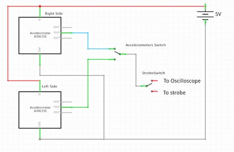 Wiring Diagram With Strobe and Oscilloscope