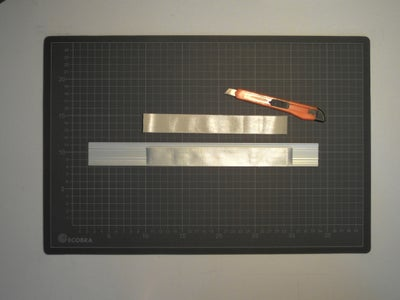 Preliminary Skills: Cutting a Tape Strip Lengthways