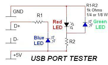 Simple USB Tester