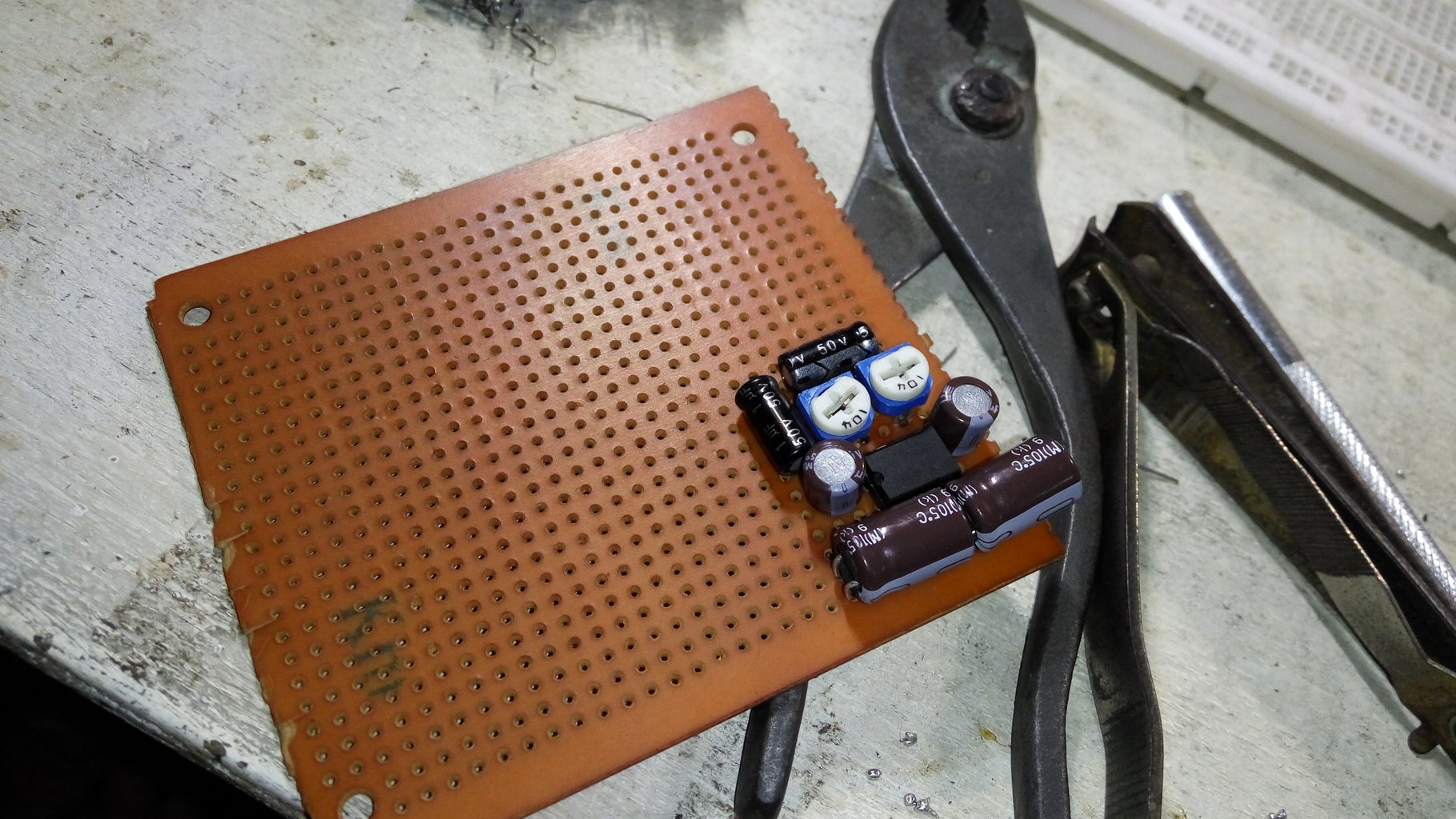 Connect, Solder and Finnish It Up!
