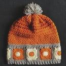 Crochet Granny Square Hat