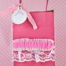 Easy Ruffled Gift bags