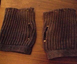 HoBoe Finger-less Fitness Gloves [Upcycled, 30-20 Min Make :-D]