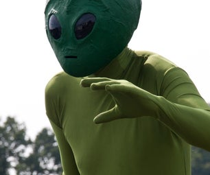 Another Realistic Alien Costume