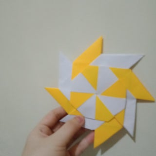 How to Make Origami Transforming Ninja Star