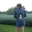 Paint ANY Pet on a Denim Jacket
