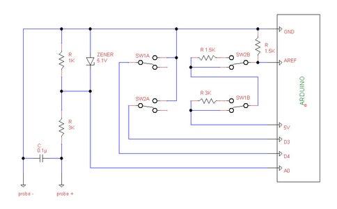 Adding Voltage Dividers