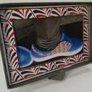 Cardboard Box Transformation Shoe-box Photo frame