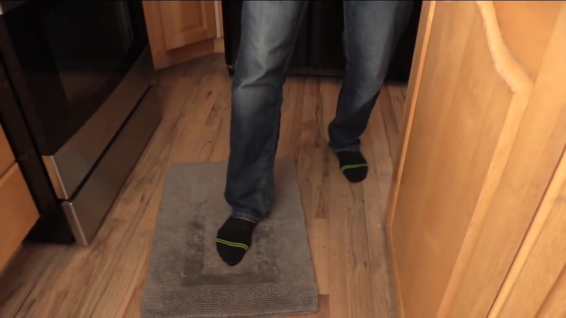 Hack: Stop A Slippery Rug